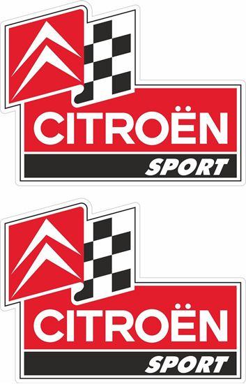 Picture of Citroen Sport Decals / Stickers