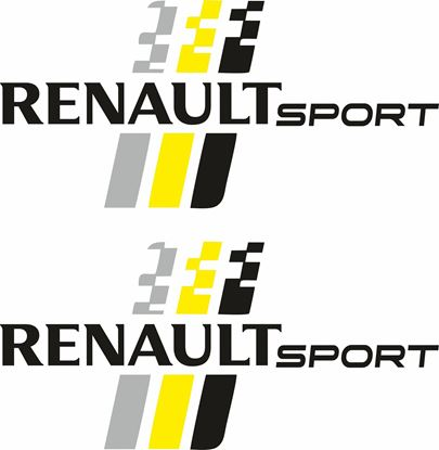 "Picture of ""Renault Sport"" Decals  / Stickers"