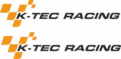 "Picture of ""K-Tec Racing"" Decals  / Stickers"