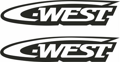 "Picture of ""C-West""Decals / Stickers"