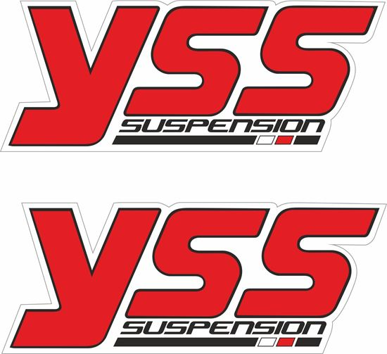 Picture of YSS Suspension Decals / Stickers