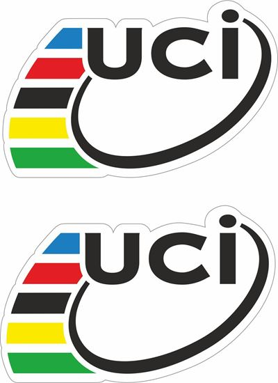 """Picture of """"uci"""" Decals / Stickers"""