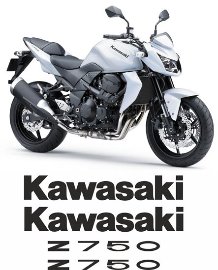 Picture of Kawasaki Z750 2011 Replacement Decals / Stickers