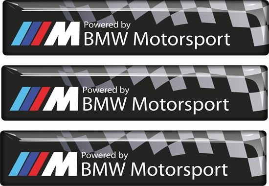 Picture of BMW Motorsport adhesive Badges