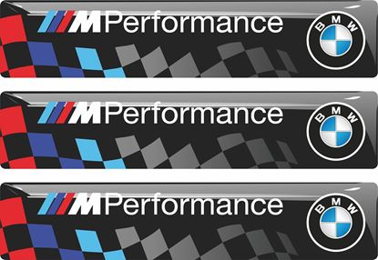 Picture of BMW M Performance adhesive Badges