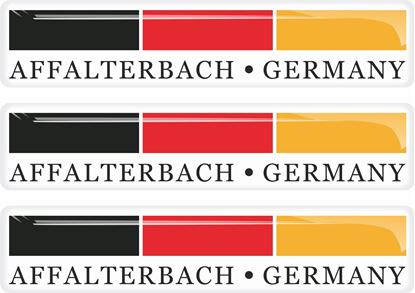 Picture of Affalterbach Germany dhesive Badges 90mm