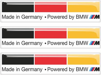 Picture of BMW Made In Germany adhesive Badges