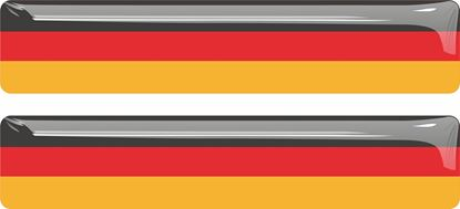 Picture of Germany 70mm Exterior Gel Badge
