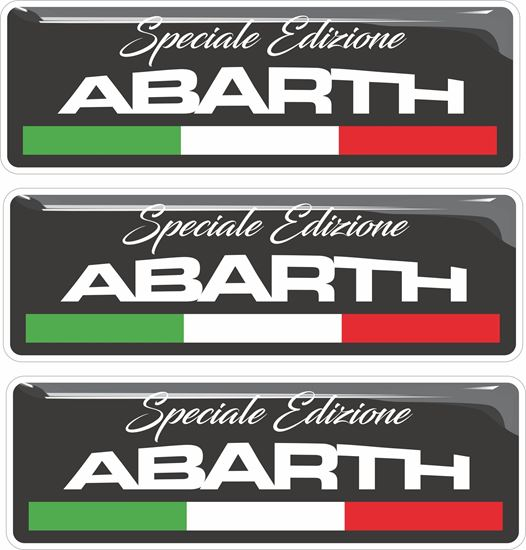 Picture of Fiat  Abarth Speciale Edizione Badges 55mm