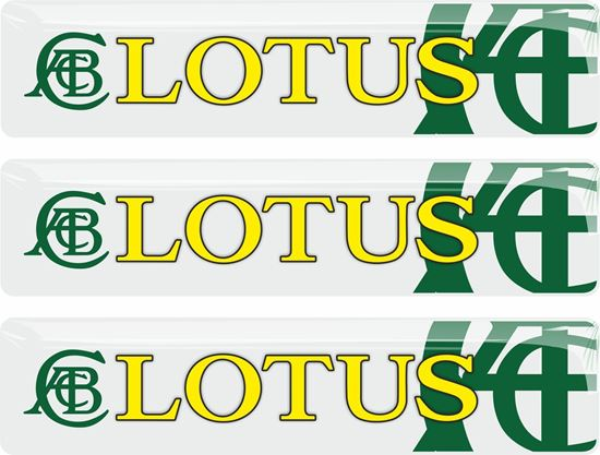 Picture of Lotus Special Edition adhesive Badges 90mm