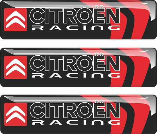 Picture of Citroen Racing adhesive Badges 90mm