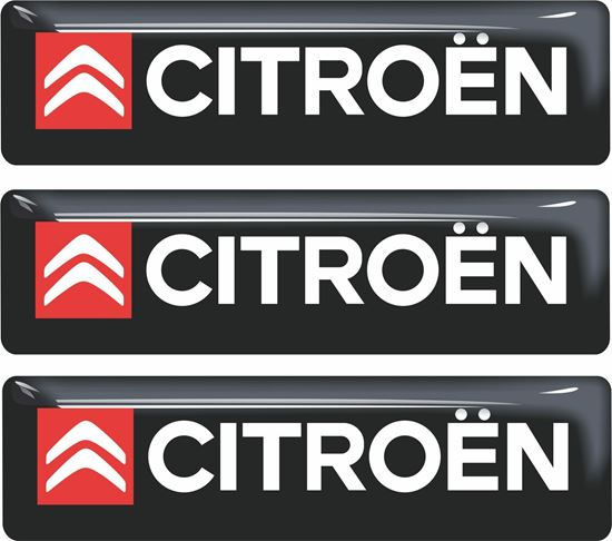 Picture of Citroen adhesive Badges 90mm