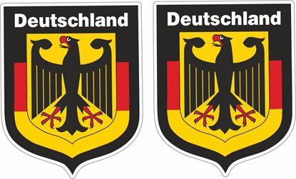 "Picture of ""Deutschland"" general panel  Decals / Stickers"
