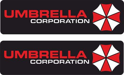 "Picture of ""Umbrella Corporation"" Decals / Sticker"
