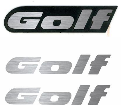 Picture of Golf MK2 quantum mud flap Badge restoration overlay Decals / Stickers