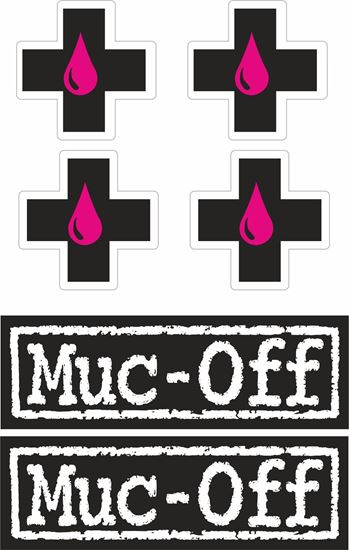 "Picture of ""muc-off"" Decals / Stickers"