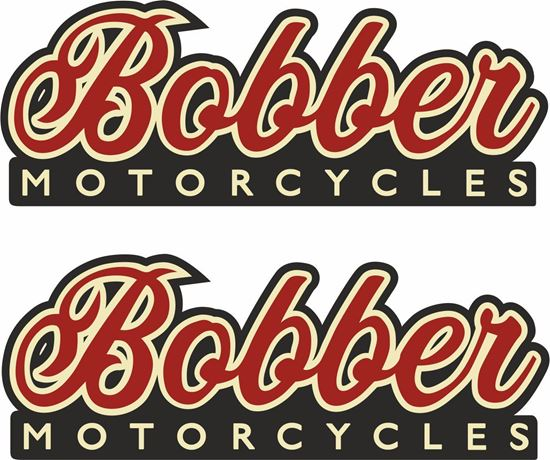 "Picture of ""Bobber Motorcycles"" Decals / Stickers"