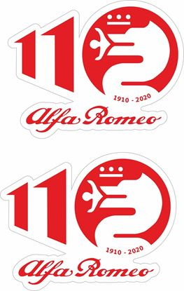 Picture of Alfa Romeo 110 Decals / Stickers