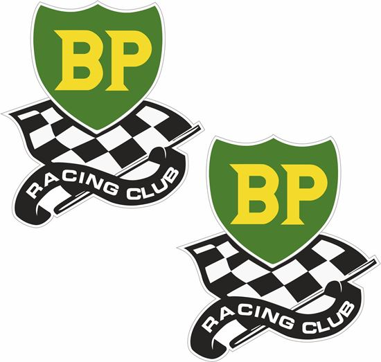 Picture of BP Racing Club Decals / Stickers