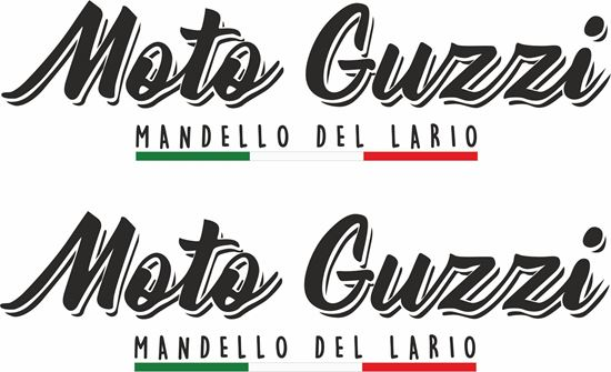Picture of Moto Guzzi Mandelo Del Lario Decals / Stickers