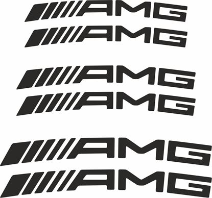 Picture of Mercedes AMG Brake Caliper Decals  / Stickers