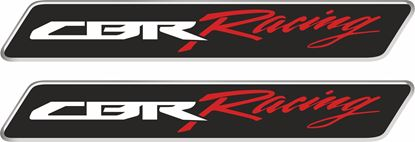 Picture of Honda CBR Racing 110mm Gel Badges