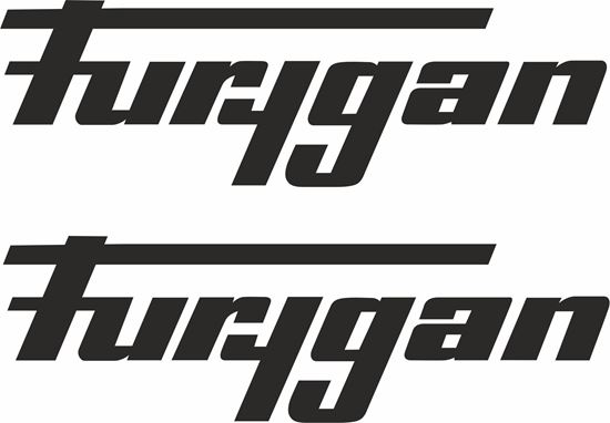 """Picture of """"Furygan"""" Track and street race sponsor logo"""