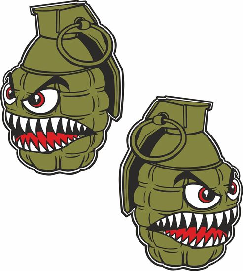 Picture of Grenade general panel  Decals / Stickers