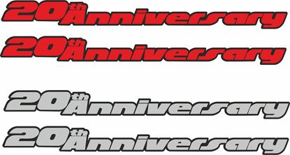 "Picture of Golf  GTI MK3 ""20th Anniversary"" Decals / Stickers"