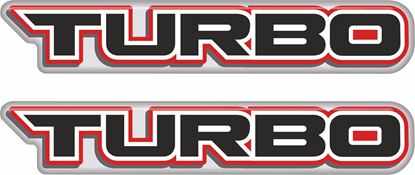 Picture of Turbo 100mm Exterior Gel Badges