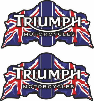 "Picture of ""Triumph Motorcycles"" restoration Decals / Stickers"