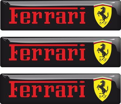 Picture of Ferrari adhesive gel Badges 55mm
