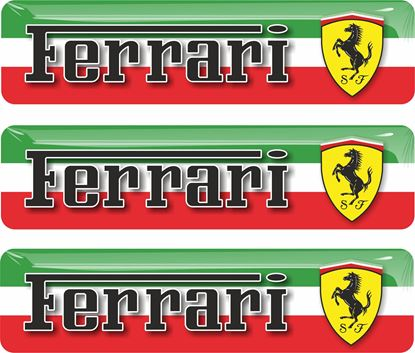 Picture of Ferrari adhesive gel Badges 55mm