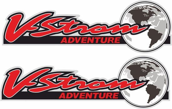 Picture of Suzuki V-Strom Adventure Decals / Stickers
