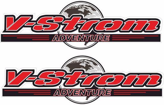 Picture of Suzuki V-Strom Adventure Decals / Stickers