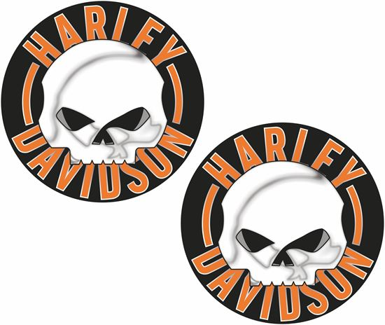 Picture of Harley Davidson Decals / Stickers