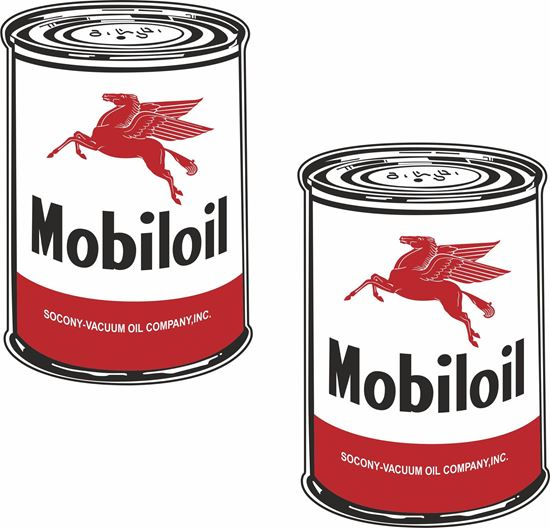 Picture of Mobil Oil Decals / Stickers