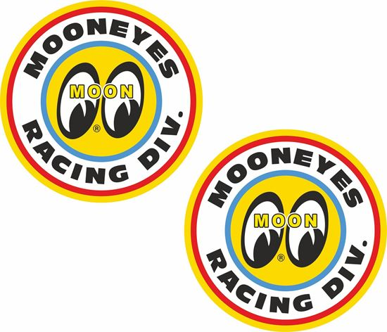 Picture of Moon Eyes Racing Div general panel Decals / Stickers