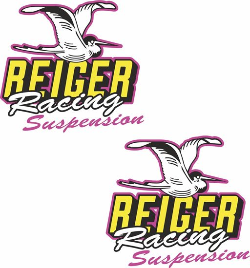 "Picture of ""Reiger Racing Suspension"" Decals / Stickers"