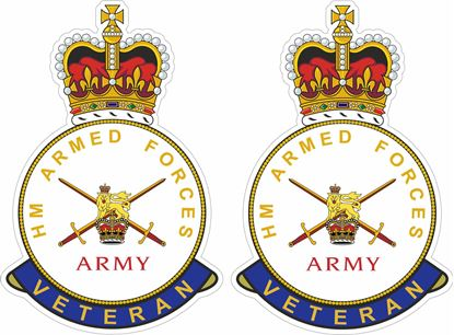 Picture of HM Armed Forces Veteran Stickers