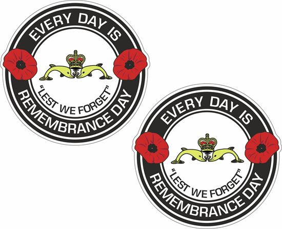 Picture of HMS Dolphin Submariners, Lest we forget Sticker