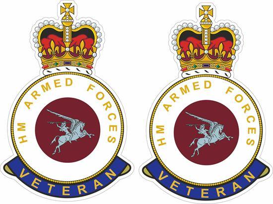 Picture of HM Para/16 Air Assault Brigade Veteran Stickers