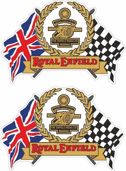 Picture of Royal Enfield Decals / Stickers
