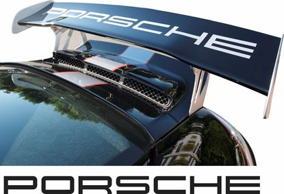 Picture of Porsche 997.1 / 997.2 GT3 RS  rear Wing Decal / Sticker