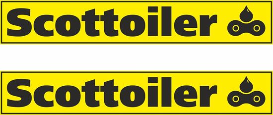 """Picture of """"Scottoiler""""  Track and street race sponsor Decals / Stickers"""