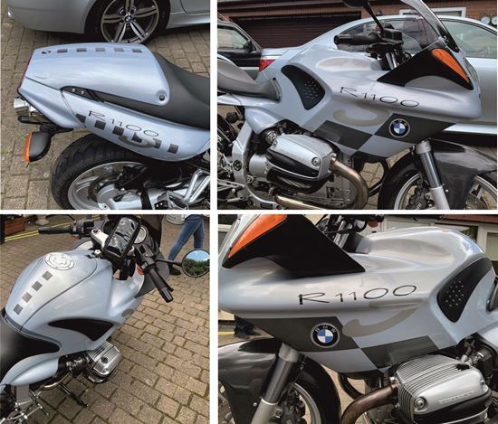Picture of BMW R 1100 S Decals / Stickers