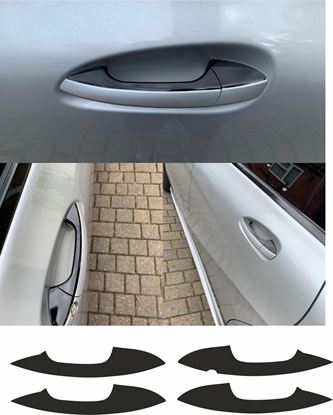 Picture of Mercedes A / B / E Class / CLA & GLA  Door handle de -chrome  Stickers