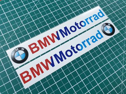 Picture of BMW Motorrad Decals / Stickers NO BACKGROND