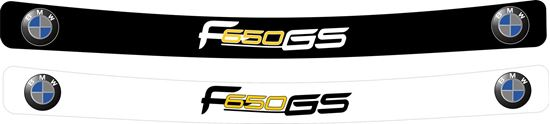 Picture of BMW F650 GS Helmet Visor Decal / Sticker