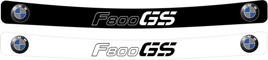 Picture of BMW F800 GS Helmet Visor Decal / Sticker